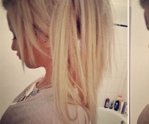 barbie, blonde, and extensions image