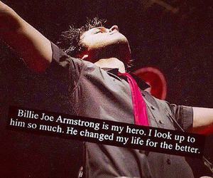 billie joe armstrong, green day, and hero image