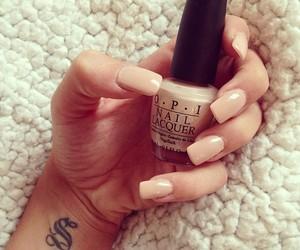 nails, opi, and tattoo image