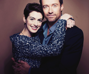 hugh jackman, Anne Hathaway, and les miserables image