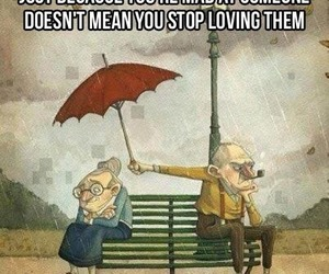 couple, text, and umbrella image
