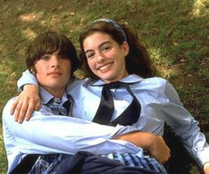 the princess diaries, couple, and michael moscovitz image