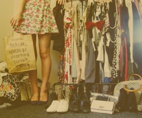 girl, clothes, and vintage image