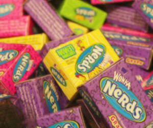 nerds, love, and candy image
