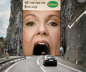 funny, mouth, and car image