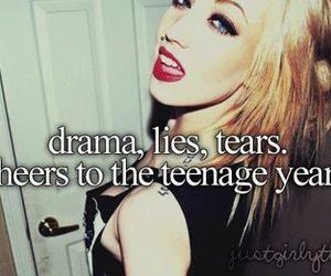 drama, lies, and tears image