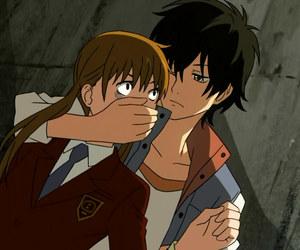tonari no kaibutsu-kun, anime, and love image