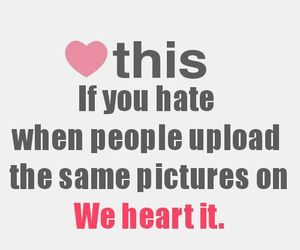 annoying, heart, and i hate image