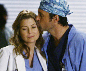 derek, meredith, and ellen pompeo image
