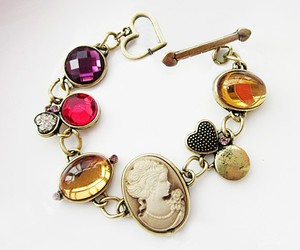 antique, vintage bracelet, and cheap jewelry image