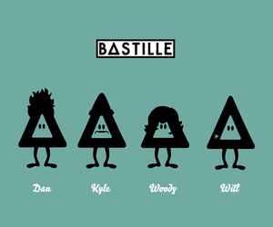 bastille, band, and kyle image