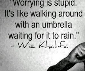wiz khalifa, quote, and rain image