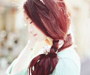 ulzzang, girl, and smile image