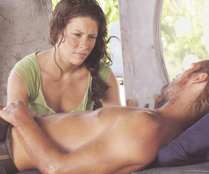 Josh Holloway, kate, and lost image