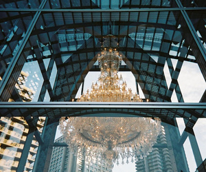 chandelier, luxury, and amazing image