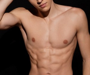 abs, Hot, and muscles image