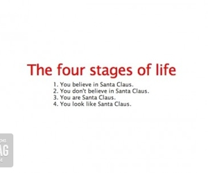 christmas, life, and santa claus image