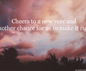 text and new year image