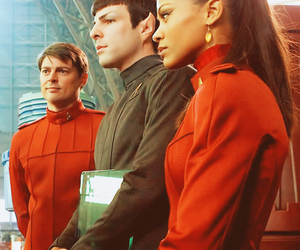 star trek, zachary quinto, and spock image