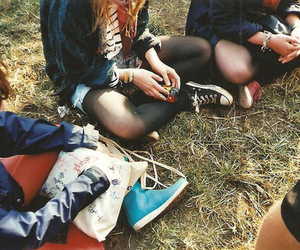 friends, vintage, and hipster image