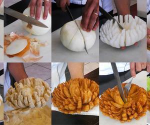 food, onion, and diy image