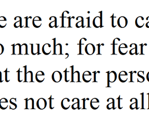quote, text, and care image