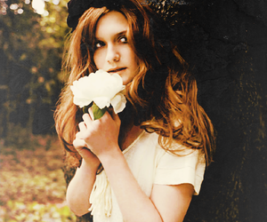 bonnie wright, flowers, and harry potter image