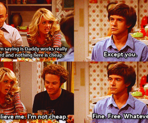 funny, lol, and that 70s show image