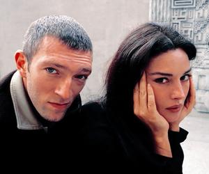 monica bellucci, couple, and Vincent Cassel image