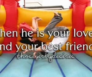 love, boy, and friend image