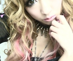 blonde, gyaru, and japanese image