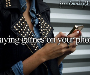 game, just girly things, and iphone image