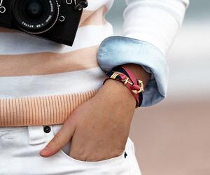 anchor, blogger, and camera image