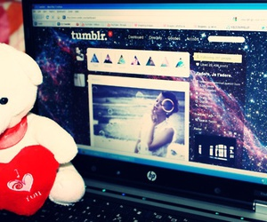 laptop and tumblr image