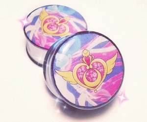 Plugs, sailor moon, and gauges image