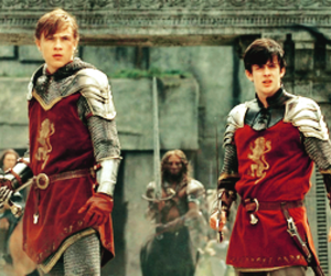 narnia, peter, and edmund image