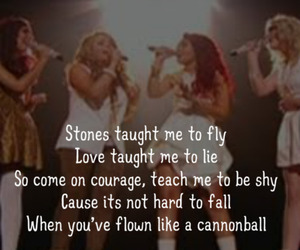 cannonball, the x factor, and little mix image