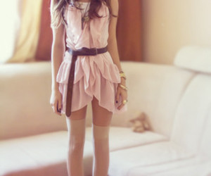 girl, pretty, and dress image