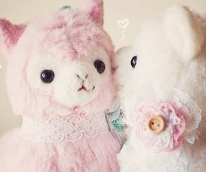 alpaca, anime, and pastel image