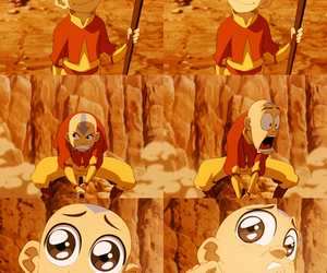 aang, the last airbender, and avatar image