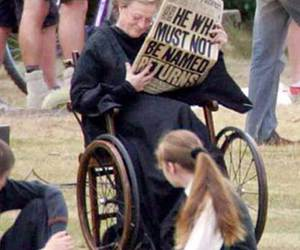 harry potter and maggie smith image