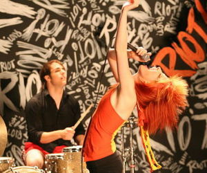 paramore, hayley williams, and riot image