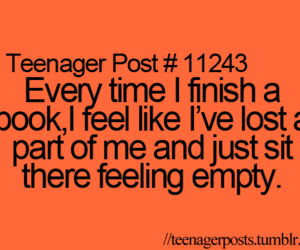teenager post, book, and quote image