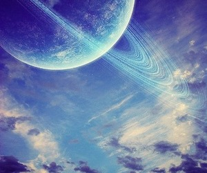 beautiful, planet, and blue image