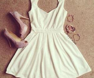 dress, heart, and iloveu image