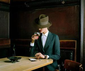 fashion, hat, and woman image