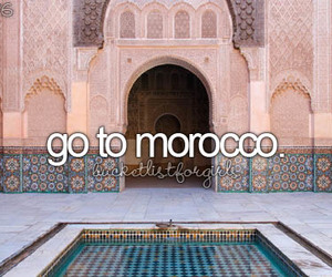 morocco, summer, and travel image