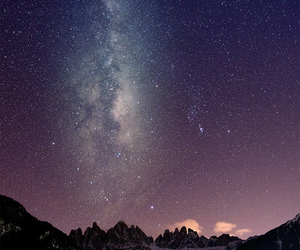 clouds, heaven, and night image