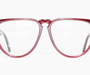 glasses, red, and Versace image