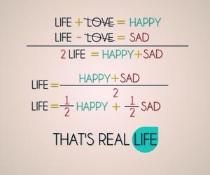 bad, math, and live life image